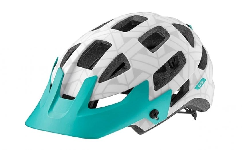 2016 Liv Infinita Womens Enduro Helmet White Green