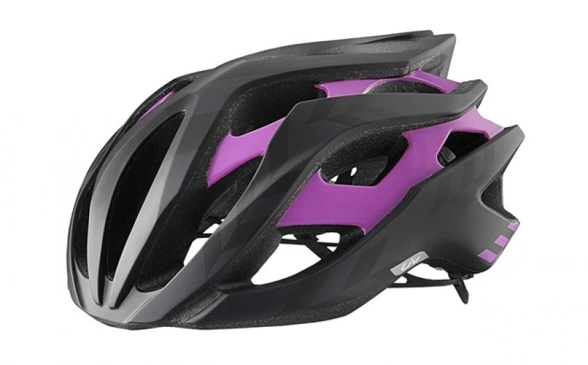 2016 Liv Rev Womens Road Helmet Black Purple