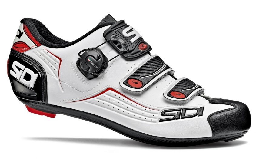 Sidi Road Alba White Black Red